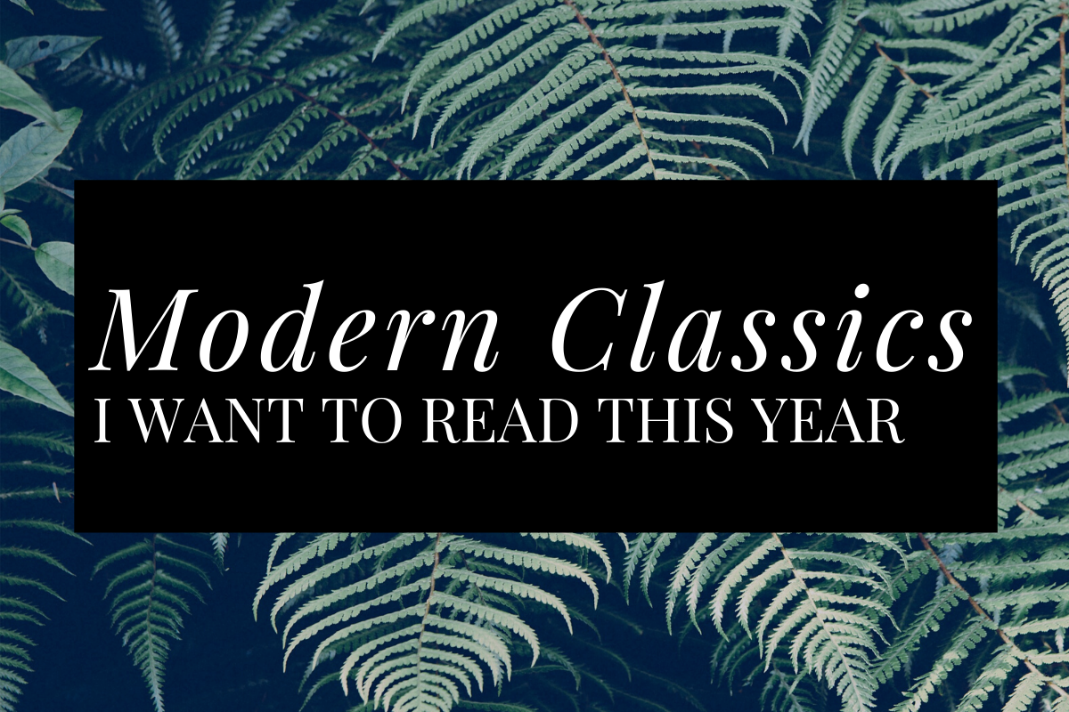 Modern Classics I Want to Read in 2020